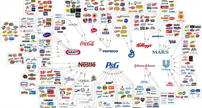 10 Corporations Control Every Just About Everything You Buy