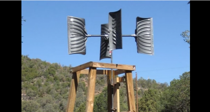 Very Simple And Easy Wind Mill For Under $200
