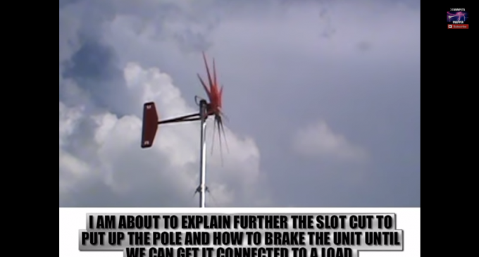 A Complete Wind Turbine Install – From Start To Finish