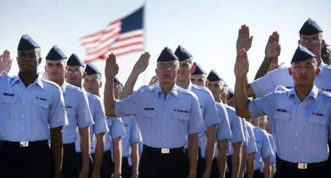 Air Force Removes 'So Help Me God' From Enlistment Oath