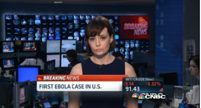 CDC: First Confirmed Case Of Ebola In The US