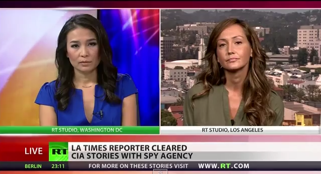 LA Times Reporter Cleared Stories With CIA Before Publication