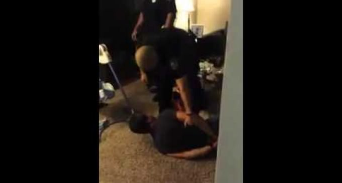 Cops Enter a Home Without a Warrant and Begin Assaulting People