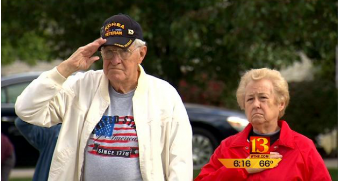 Korean War Veteran Battles HOA To Keep American and MIA Flags In His Yard