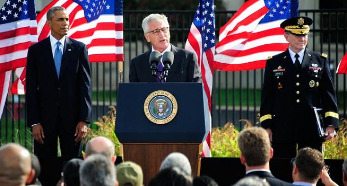 Obama's Military Purge: Chuck Hagel's Head Hits The Chopping Block