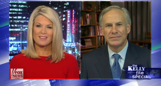 TX Gov. Elect Greg Abbott: We Will Sue Obama For Any Executive Order On Illegal Aliens