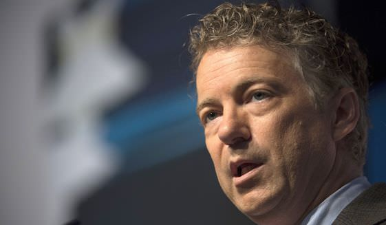 """Sen. Paul: """"Senate Obamacare Bill Does Not Repeal Obamacare. Not even close."""""""