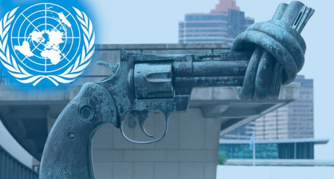 Merry Christmas: UN Declares Dec. 24th Start Of UN's Arms Trade Treaty, Time To Turn In Your Guns