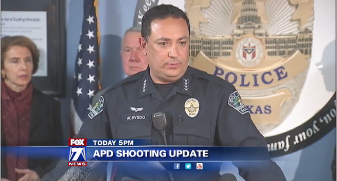 Austin Police Chief: Turn In Gun Owners Who Are Upset At The Government