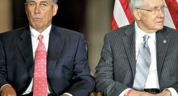 Reid Backs Boehner's Plan To Fund Obama's Executive Order On Amnesty Through March
