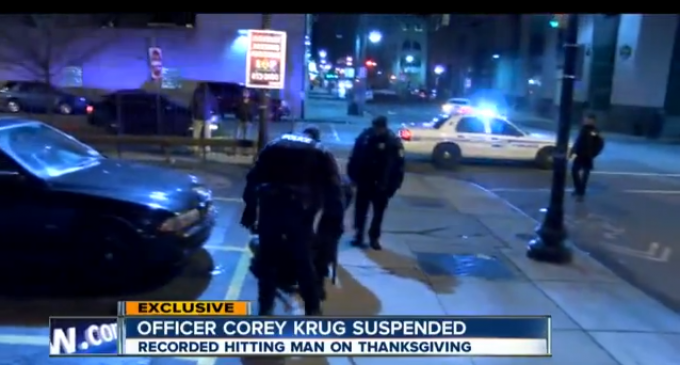Buffalo Cop Caught Ordering Man To Stand, Beating Him When He Tries