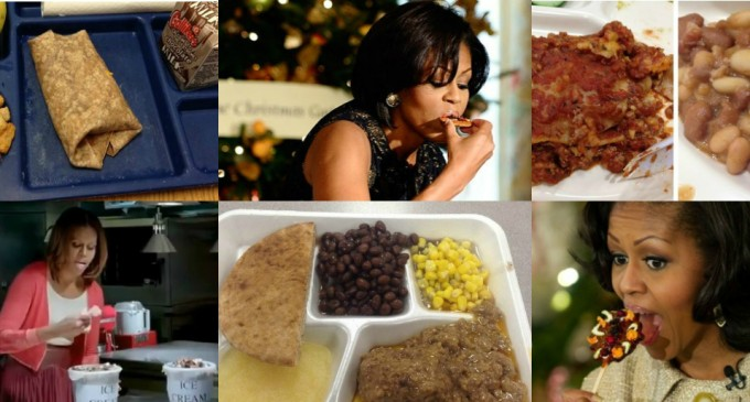 Malia And Sasha's School Lunch Vs. The Food Michelle Obama Feeds Your Kids