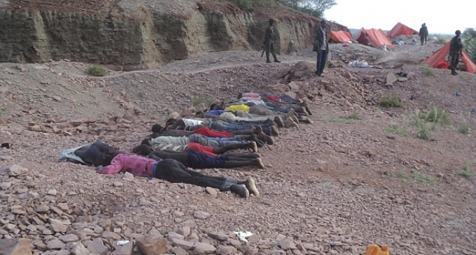 Islamic Militants Shoots and Decapitates 36 Non-Muslim Quarry Workers