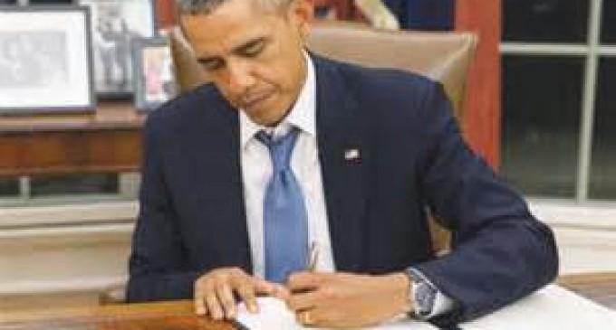 Obama Exec Order Prepares for Catastropic Event