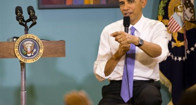 "Obama Botches Bible Quote, States Some Republicans are ""Pretty sure I'm an Illegal Immigrant"""