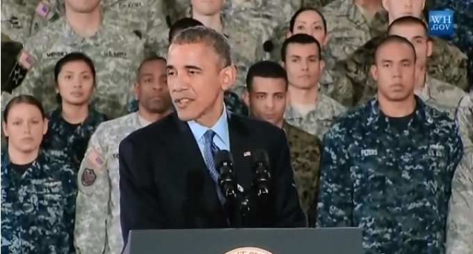 Obama Cuts Military Pay for 3rd year in a row.