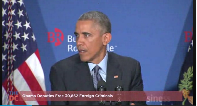 Obama Releases 30,862 Foreign Criminals Onto American Streets, To Be Used In Martial Law Against Populace