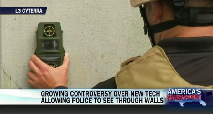 Cops Now Using New Radar Device to 'See' Through Walls of Homes