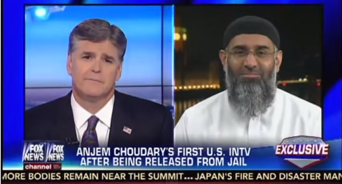 Muslim Cleric and Terrorist Anjem Choudary Interview On Hannity, Battle Over Radical Islamic Beliefs
