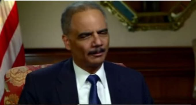 """Eric Holder Admits to a """"Single Failure"""" as Attorney General"""