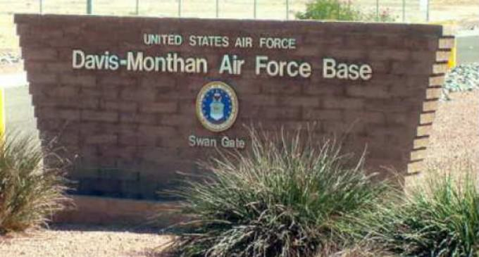 Air Force Base Permits Altered, LGBT Version Of American Flag To Fly