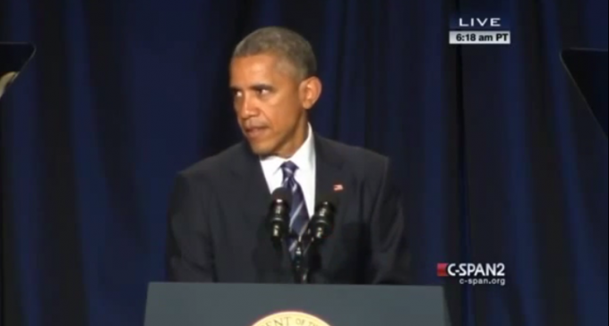 Obama: 'People Committed Terrible Deeds in the Name of Christ' During The Crusades