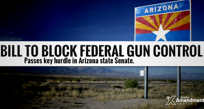 Arizona Moves To Nullify Federal Gun Control Laws