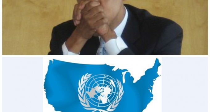 Obama Moves To  Supplant Congress With United Nations