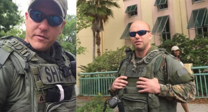 Florida Man Pulled Over By Cops Outfitted In Camoflague Driving An Armored Vehicle