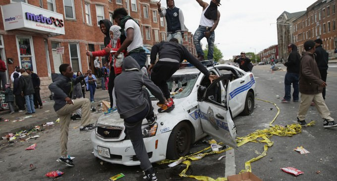 The Absolute Best Meme To Describe The Ridiculousness Surrounding Baltimore And The White House