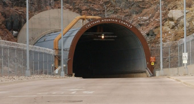 NORAD Moves Operations Back Underground in Fear of EMP Attack