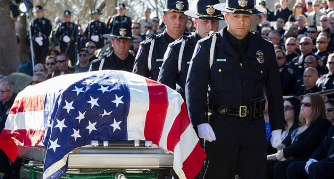 Number Of Police Officers Killed In Line of Duty Doubles as Morale Shrinks