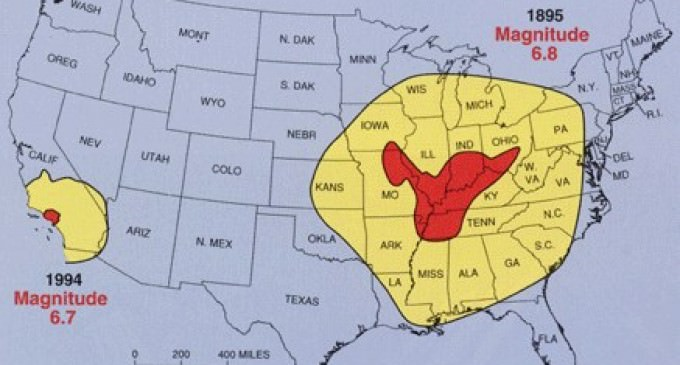Foreshock Concerns as Significant Earthquake hits New Madrid Fault Seismic Zone