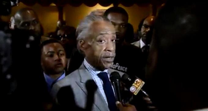 Sharpton: Federalize Local Police And Fight Against States' Rights