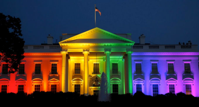 White House Dons Gay Colors After Supreme Court Ruling