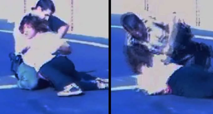 Horrifying Video of Cop Tasing 12-year-old As He Chokes Him