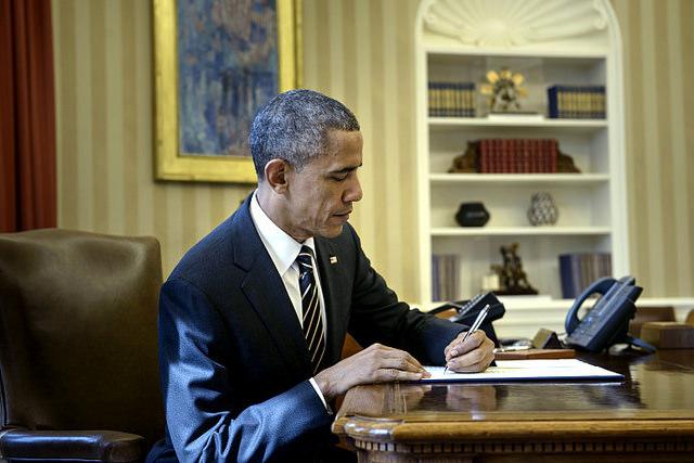 obama signs executive order