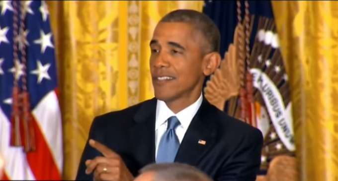 Obama Claims Ownership Of White House In Handling Heckler