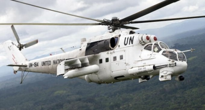 REPORT: Possible UN Chopper Convoy Flying Over Washington State