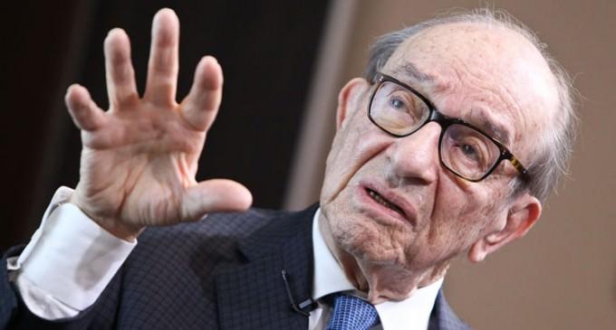 Greenspan Blames Government Spending for Economic Drain