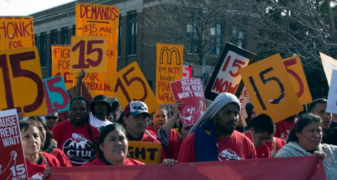Union Wants Exemption From Higher Minimum Wage it Supported