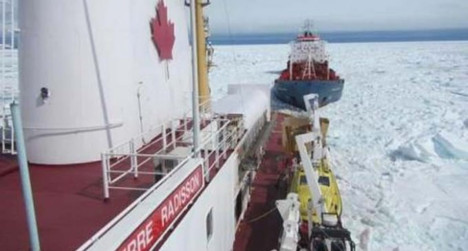 Arctic Expedition To Study Global Warming Stopped Because Of Too Much Ice