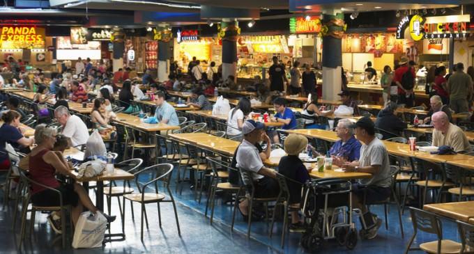 Mom Arrested for 'Abandoning' Children at Food Court
