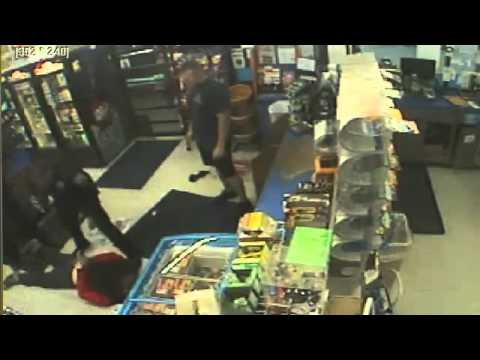 How NOT to Rob a Gas Station