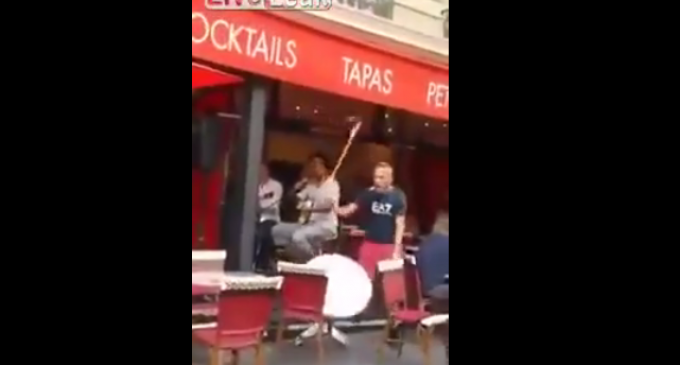Muslim Man Loses It In French Cafe Because People Are Eating During Ramadan