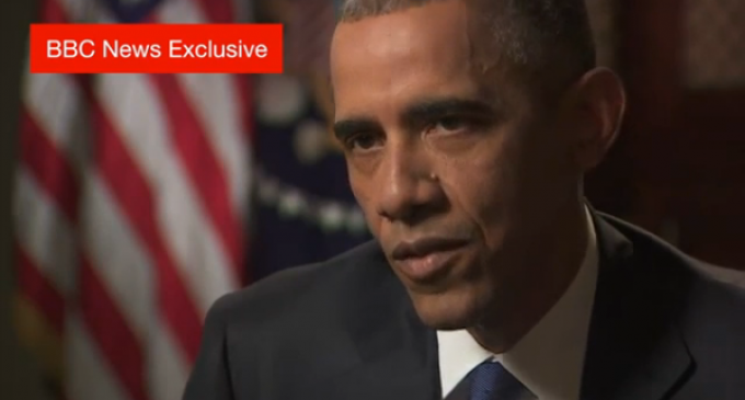 Obama Complains To BBC About Not Passing 'Common Sense' Gun Control