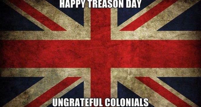 Happy Independence Day, Ungrateful Colonials