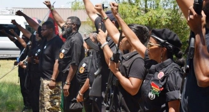 Heavily Armed New Black Panthers Taunt Police In Texas Protest March