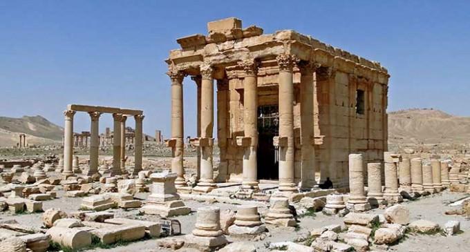 ISIS Blows Up Ancient Baal Shamin Temple