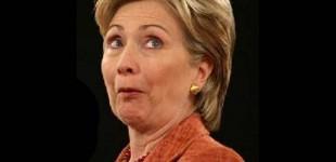 Clinton: one big happy lie